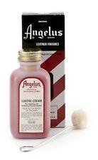 Angelus Leather Lustre Cream Restoring Softening Cleaning Preserving Polishing N