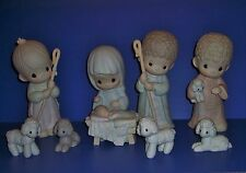 Precious Moments 9 inch Dealers Only Nativity 104523 No Boxes