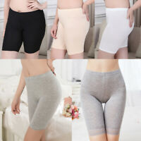 Women Soft Safety Pants Underwear Leggings High Waist Shorts Summer Slim Thin