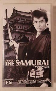 Shintaro: The Samurai (Vol 8) VHS 1962/65 Jidaigeki Series New / Sealed Cassette