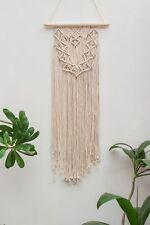 Handmade Macrame Wall Hanging Woven Wall Art Macrame Tapestry Boho Wall Decor Wa