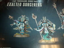 Thousand Sons Exalted Sorcerers Chaos Space Marines Warhammer 40k 40,000 New!