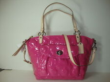 Coach Embossed OP ART Patent Leather Tote 13178