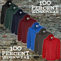 Uneek Mens Full Zip Classic Super Micro Fleece Jacket Quality Low Price Workwear