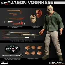 """Mezco One:12 Collective JASON VORHEES 6"""" action figure Friday the 13th Part 3"""