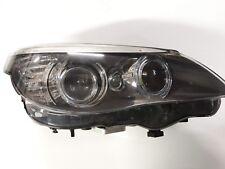 BMW 5 Series E60 LCI Bi-Xenon 2007-10 Driver side Headlight  1LL009450-04/Al