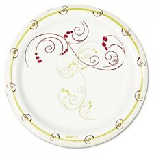 "Solo Cup Company Symphony Design Poly-Coated 6"" Paper Plates - MP6J8001CT"