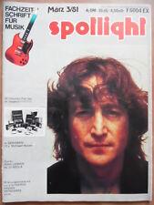 Spotlight 3 - 1981 John Lennon al DI MEOLA munju pietra focaia Thomas keemss
