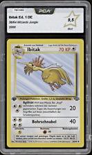 2000 Pokemon IBITAK   Fearow - 38/64 - 1. Edition Jungle DE - PCA 9,5 (~ PSA 10)