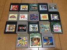 Nintendo Gameboy Cartridge Japan GB lot of 18 set 122