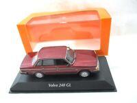 Volvo 240GL Saloon Dark Red Metallic 1986   Maxichamps  940171401