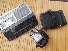SANYO TRC7500 MemoScriber Machine Dicter Cassette Standard Lecteur Enregistreur