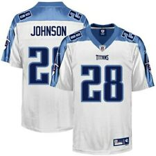 NFL Jersey Tennessee Titans Chris Johnson 28 Authentic ONFIELD Jersey White