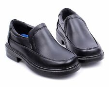 Black nn Church Slip On Little Kids Boys Back To School Youth Shoes Size 4