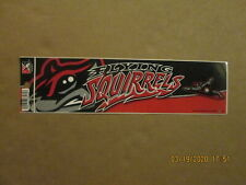 Eastern League Richmond Flying Squirrels Circa 2012 Logo Baseball Bumper Sticker