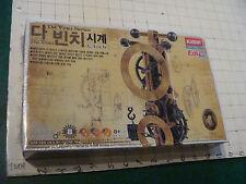 Sealed DA VINCI model; UNUSED, ADADEMY MODEL KIT, undated in JAPANESE----CLOCK