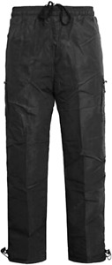 Mens Fleece Thermal Lined Cargo Bottoms Elasticated Walking Trousers Combat NP10