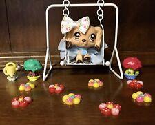 Authentic Littlest Pet Shop #575 Cocker Spaniel W/ Flower Eyes🐾