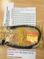 SUZUKI GT185 K.L.M.A.B NOS BATTERY CABLE NEW IN BAG WITH TAG PT NO 36861-36100