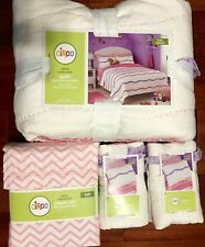 Circo Wave Collection Full 7 Piece Set / Quilt-Shams-Sheet Set New With Tags