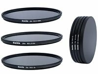 Haida Slim ND Graufilterset ND8x, ND64x, ND1000x -  77mm + Stack Cap