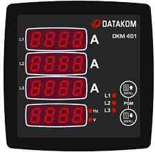 DATAKOM DKM-401 Painel do multímetro digital, 96x96mm, 3 fases