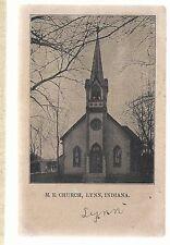 M E Church Lynn In Mailed 1908 Methodist Episcopal Postcard 693