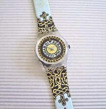 VINCI'S TWIST! Regal, Colorful FLEUR-DE-LYS Ladies Swatch-NIB!