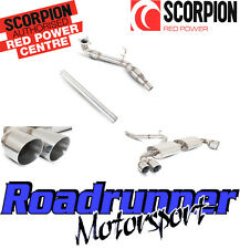 Scorpion Audi TTS MK2 Exhaust Downpipe Cat & Non Res System Daytona SAUS026SYS