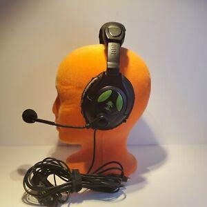 Turtle Beach Ear Force X12 Black/Green Headband Headsets for Microsoft Xbox 360