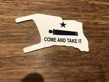 MARX ALAMO PLAY SET COME AND TAKE IT, DIE CUT ALUMINUM FLAG