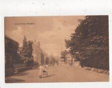 London Road Harleston Norfolk 1913 Postcard 767a