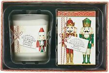 NIB Michel Design Works Nutcracker Candle and Soap Gift Set New In Box