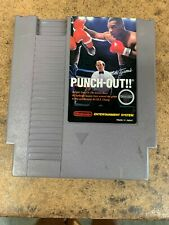 Mike Tyson's Punch-Out Nintendo NES Authentic