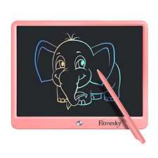 Flovesky Colorful LCD Writing Tablet Doodle Board,15 inch Drawing Tablet Writing