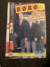 1991 Middlesbrough V Wolverhampton Football Programme