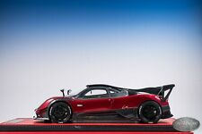 1/18 Peako Pagani Zonda LM AMG Red and  Carbon Ltd #04/30