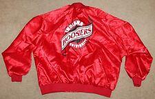 Indiana University Hoosiers Basketball Satin Jacket Mens Size XXXL 3XL Vintage