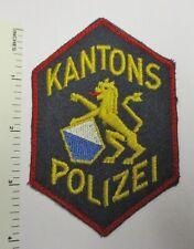 LUZERN SWITZERLAND KANTONS POLIZEI POLICE PATCH Vintage Original SWISS
