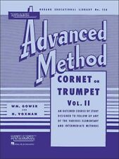 Rubank Advanced Method – Cornet or Trumpet, Volume 2, Advanced Level, 80 Pages,