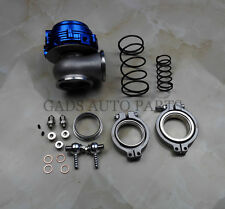 44mm WASTEGATE external turbo WITH Flange,hardware,spring water cooled, Blue