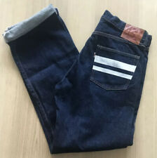 "Momotaro 0903SP Old Blue Jeans - 33 x 35 - ""Going to Battle Label"" - 15.7oz"