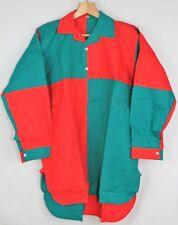 Unworn Vintage 70s Men's Hockey cotton Shirt Size L Red/Green 224