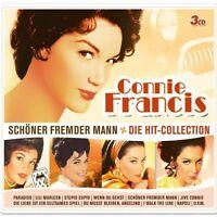"""CONNIE FRANCIS """"SCHÖNER FREMDER MANN"""" 3 CD BOX NEU"""