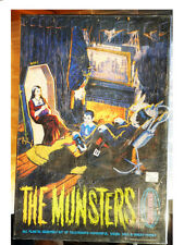 MUNSTERS-MODEL KIT-TOY-TOYS-KARLOFF-COMICS,HORROR,MONSTER-POLAR LIGHTS-TOY-TOYS
