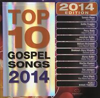 Top 10 Gospel Songs: 2014 Edition by Various Artists (CD, Sep-2013, Maranatha!)