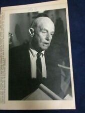 Wire Press Photo 1990 William Seidman FDIC Senate Banking Committee Washington 2