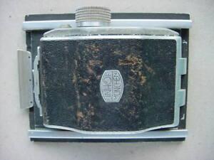 LINHOF MUNCHEN - ROLLEX 6 x 9 ROLL FILM ADAPTER IN L/HOF 101 FRAME + DARK SLIDE.
