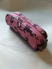 CATH KIDSTON Otters Pencil Bag Make Up Bag Pencil Case Pouch, Pink