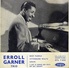 ERROLL GARNER TRIO DEEP PURPLE FRENCH ORIG EP